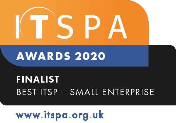 Best ITSP – Small Enterprise - FINALIST 2020