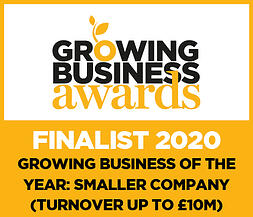GBA 2020 Finalist Logo - GBY Smaller (up to £10m)
